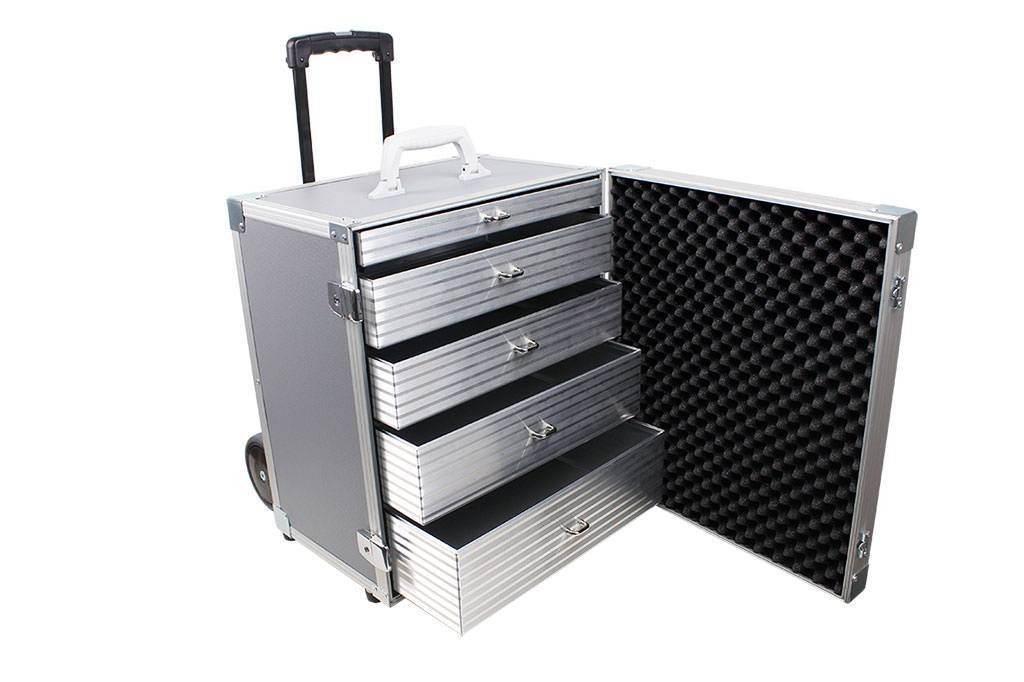 schubladenkoffer aluminiumkoffer von ks technocase ihrem hersteller f r alukoffer. Black Bedroom Furniture Sets. Home Design Ideas