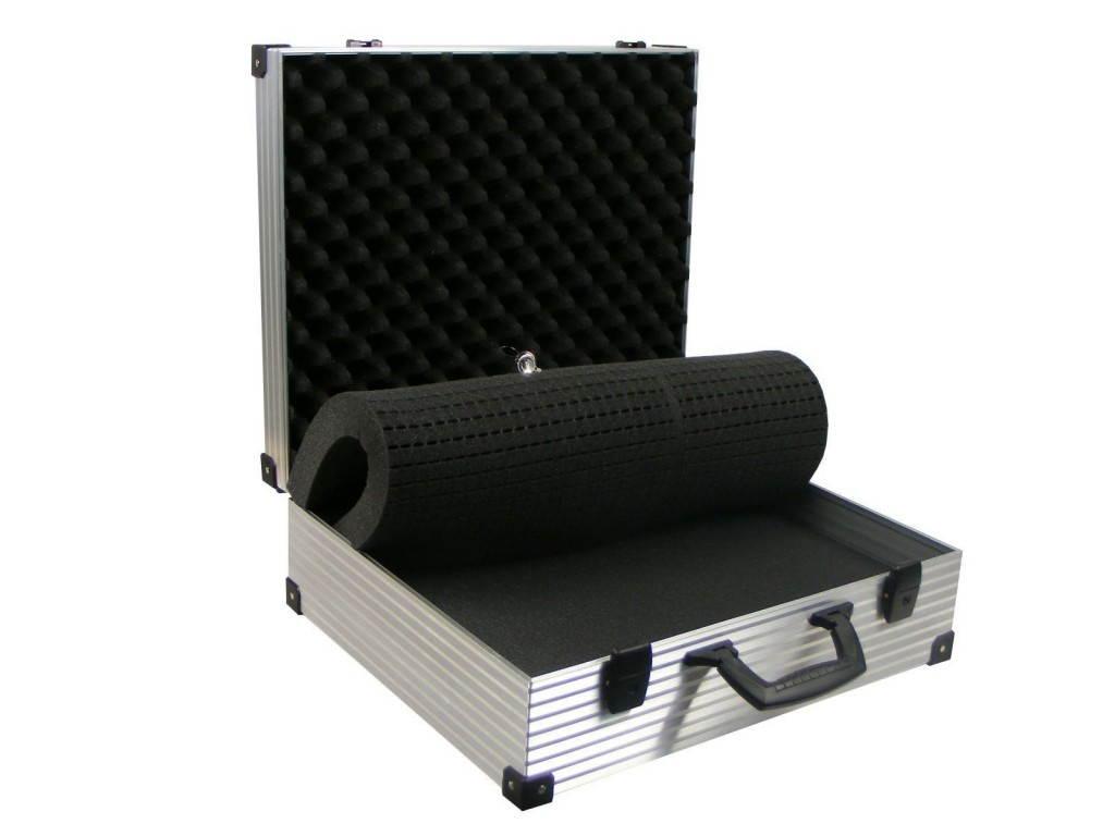 schaumstoffe deckelf cher und inlays aluminiumkoffer von ks technocase ihrem hersteller f r. Black Bedroom Furniture Sets. Home Design Ideas